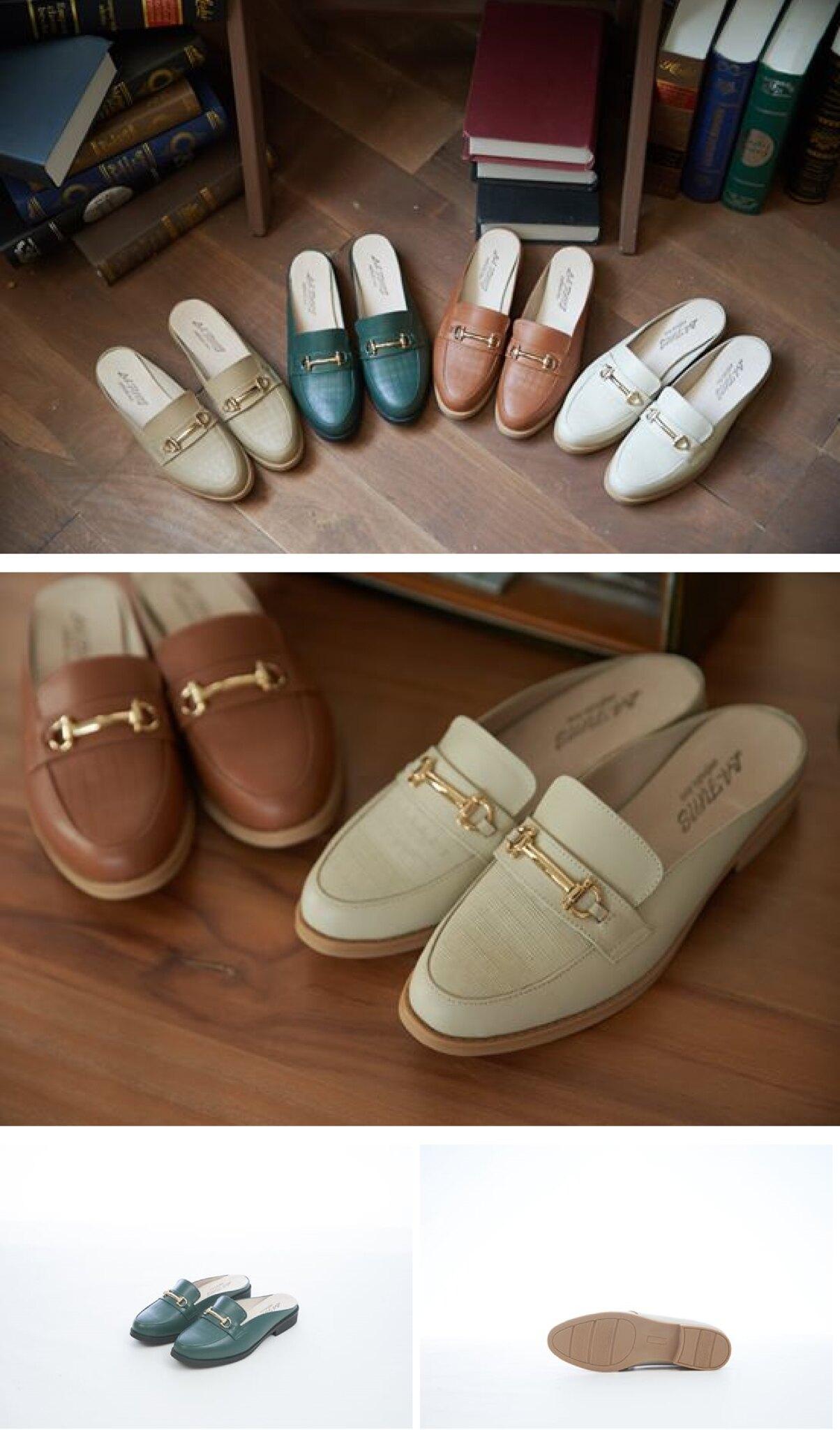 英倫風穆勒鞋