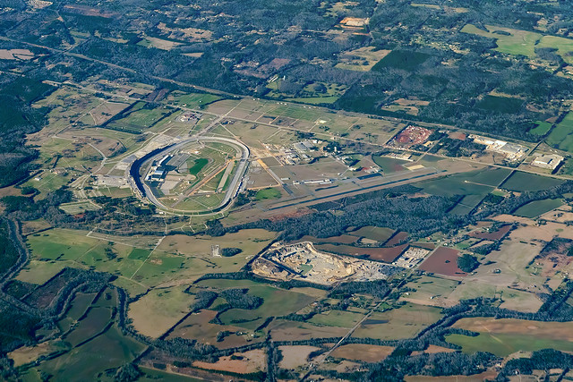 Up Above The Talladega International Speedway