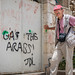 """Gas the Arabs!"" sign in Hebron"