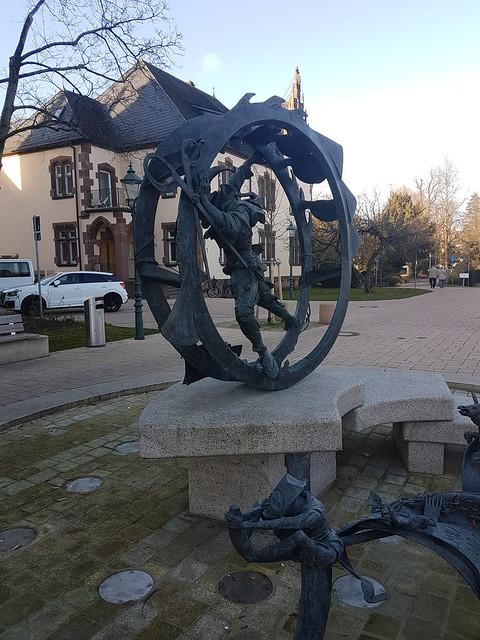 Narrenbrunnen in Bühl