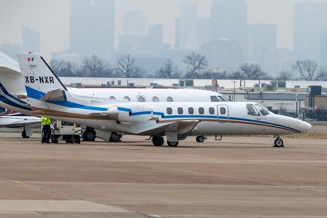 XB-NXR Cessna Citation II 550-0216 KDAL