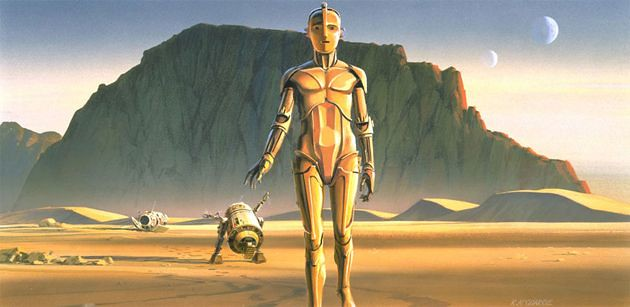 不想飾演C-3PO、差點被C-3PO殺死、為C-3PO付出所有:C-3PO裏頭的那個男人