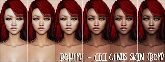 Boheme - CiCi Genus Skin (BOM)