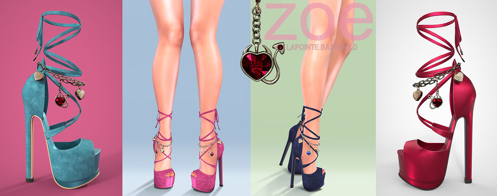 L&B Zoe Heels – Mainstore Release!