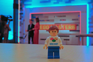 Behind the scenes at the LEGO Masters set