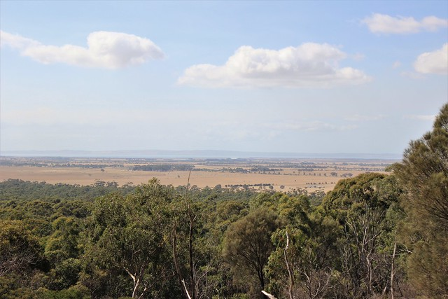 Mornington Peninsula from You Yangs Regional Park