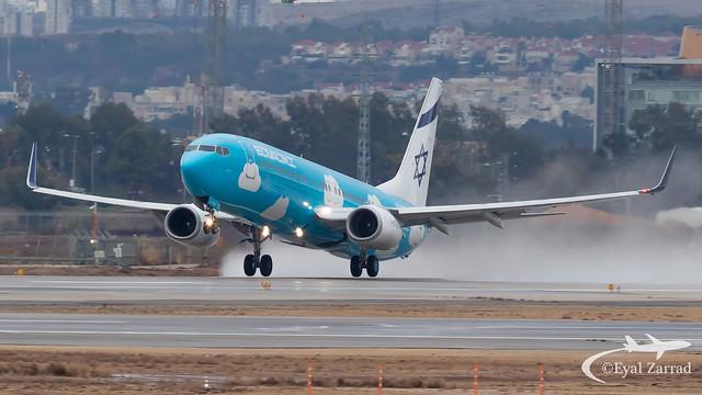 TLV - El Al Boeing 737-800 4X-EKM