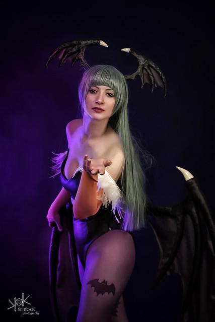 Doriana as Morrigan from Darkstalkers (Low Key I)
