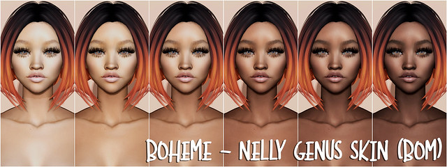Boheme - Nelly Genus Skin (BOM)