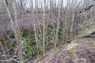 Piiri peal / Between underground and surface mine