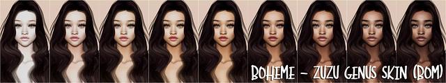 Boheme - Zuzu Genus Skin (BOM)