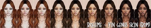 Boheme - Yin Genus Skin (BOM)