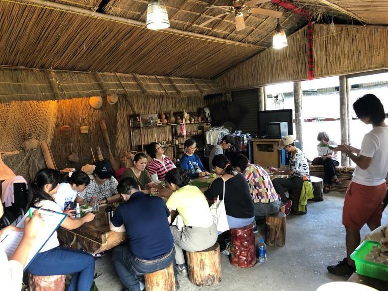 結合週邊社區文化特色,共同討論適合的森林活動