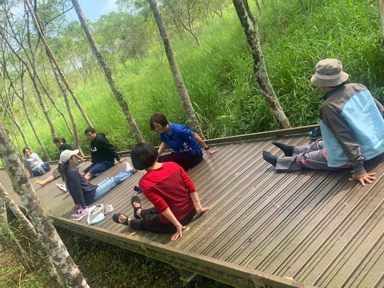 森林療癒活動也促進人與人的關係