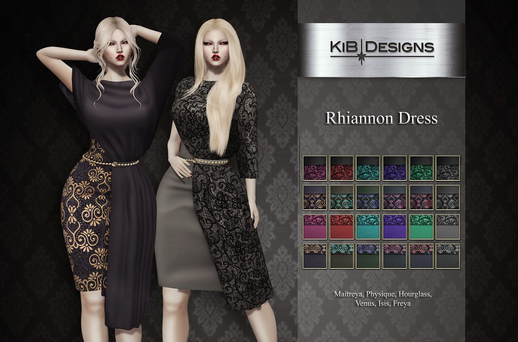 KiB Designs – Rhiannon Dress @Sense Event