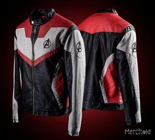 不能穿越時空,只有耍帥功能!Merchoid《復仇者聯盟:終局之戰》「量子戰服」皮夾克(Avengers: Premium Quantum Jacket)