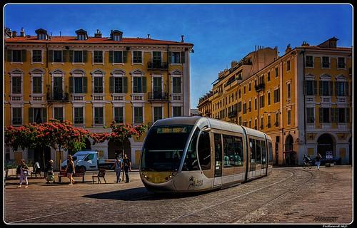 Nice_Tramway_Place Mssena_France