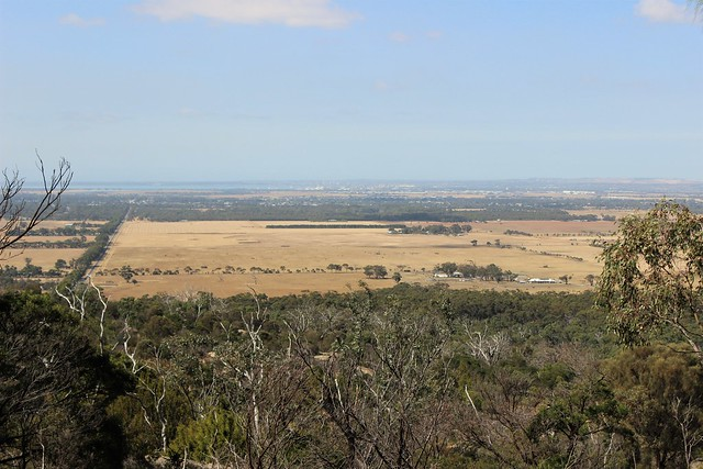 View looking west from You Yangs Regional Park