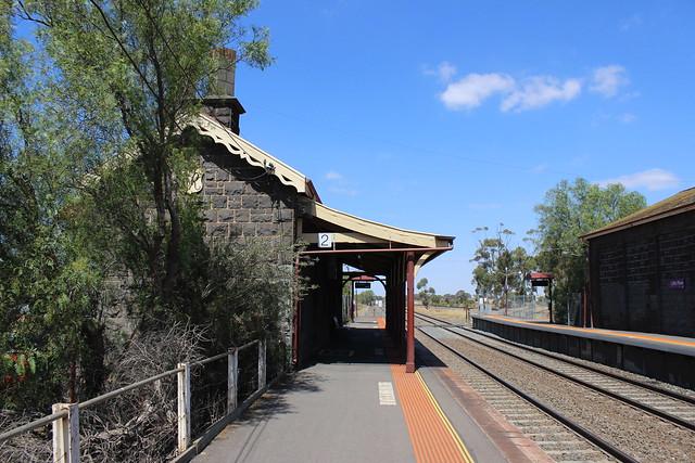 Station building at Little River Station Platform 2