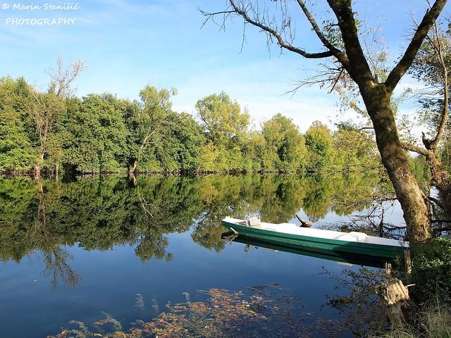 Karlovac, Croatia - Reflections on river Korana