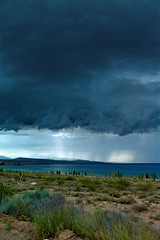 [260] Stormy Front Over Issyk-Kul Lake