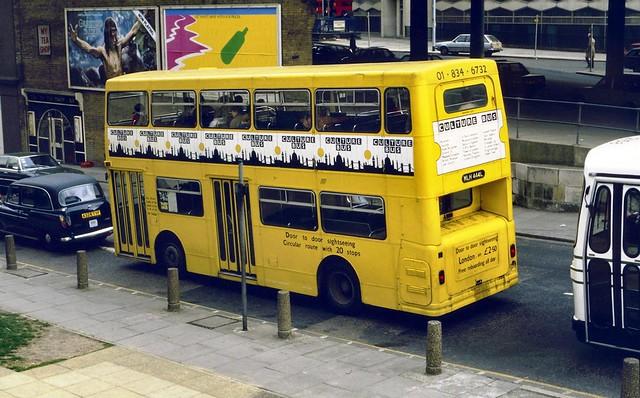 MLH444L Culture Bus ex-DMS1444 London Bridge