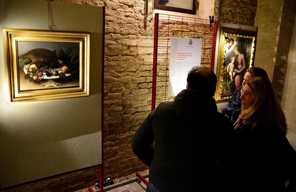 INAUGURATA LA MOSTRA -L'ARTE DELLE DONNE-ORSOLA MADDALENA CACCIA, UNA GRANDE PITTRICE DEL SEICENTO-  21 DICEMBRE 2019  Foto A. Artusa