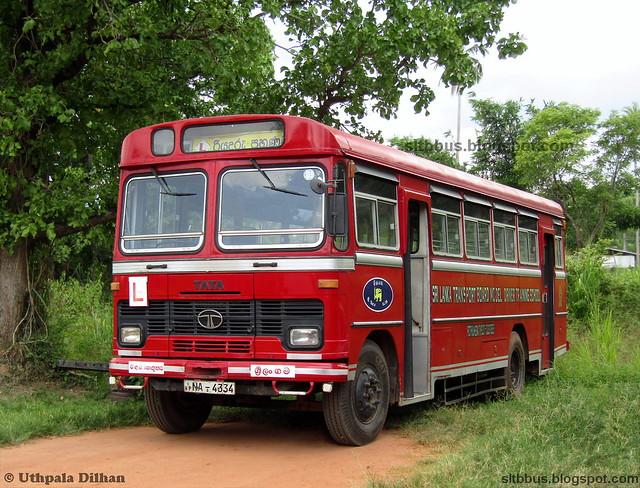 Antony bodied TATA LP 1510/52 bus from SLTB Pothuhera driver training school