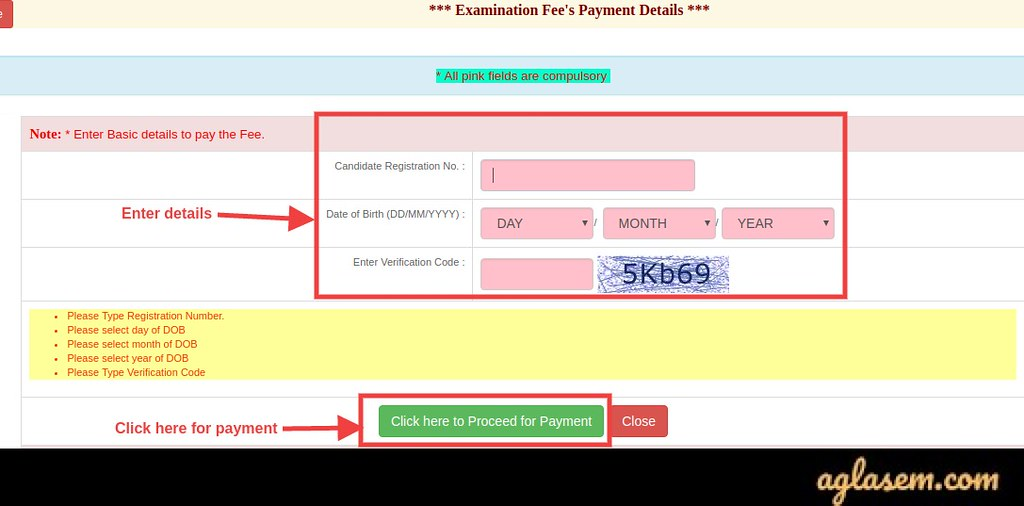 UPPSC AE Application Form Fee 2020
