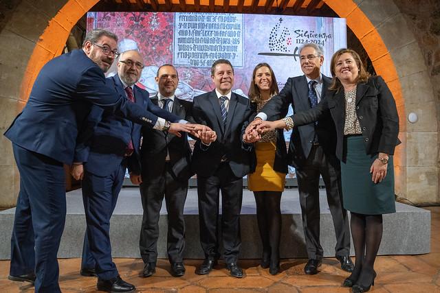 Presentación de los actos conmemorativos del IX Centenario de la Reconquista de Sigüenza