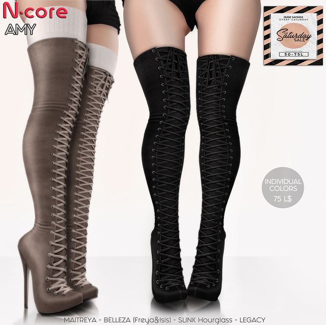 N-core AMY Boots (Saturday SALE)