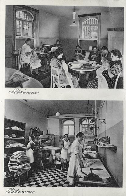 ArchivV16 Kinder- und Mütterheim, Leipzig, Scheffelstraße 42, 1930er