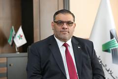 رئيس الائتلاف الوطني - أنس العبدة