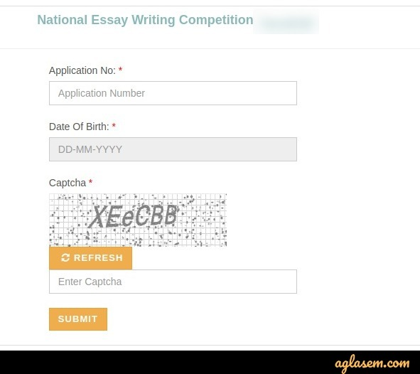 National Essay Writing Competition 2020 Result - Check Here for All Rounds