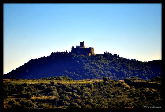 Fort Saint-Elme depuis Argelès