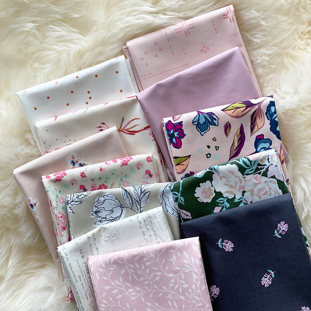 A Bluch Bundle Giveaway with Lady Belle Fabric!