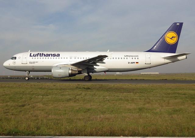 D-AIPF, Airbus A320-211, c/n 083, Deutsche Lufthansa AG,