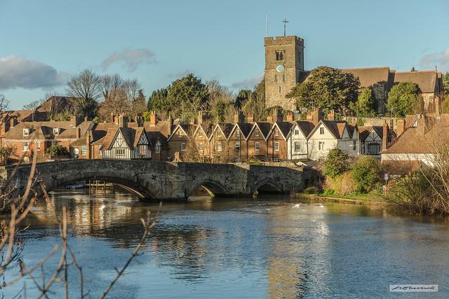 Medway village of Aylesford, Kent.