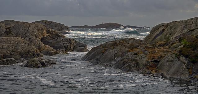 stormy day, Kristiansand, Norway