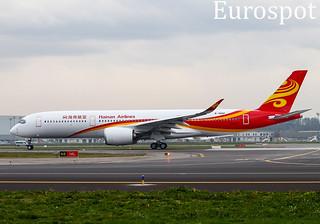B-30DP Airbus A350 Hainan Airlines