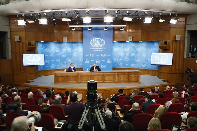 17 января 2020 Пресс-конференция С.Лаврова