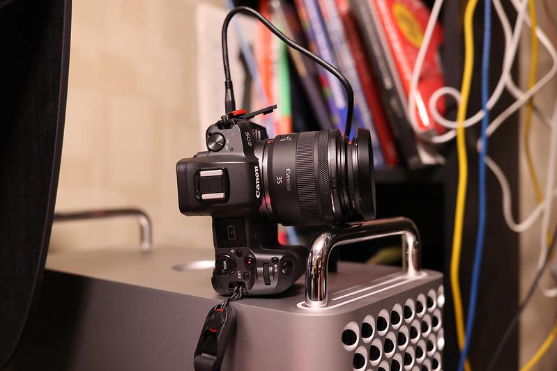 EOS RをMac Pro 2019で充電する:EOS R USB充電の条件