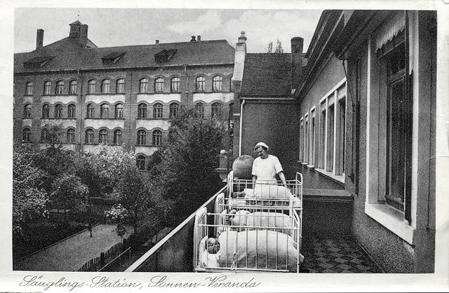 ArchivV12 Kinder- und Mütterheim, Leipzig, Scheffelstraße 42, 1930er