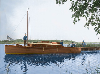A Swedish motor yacht (1907)