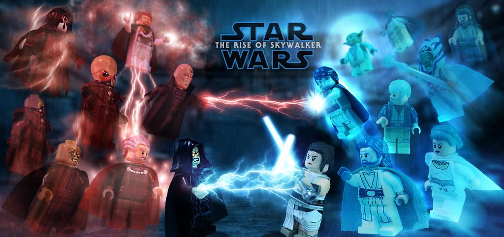Lego Star Wars The Rise Of Skywalker The Light Side Vs Flickr