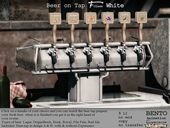 F-Class Beer tap white