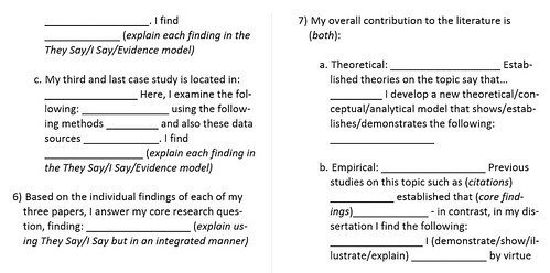Global Dissertation Narrative