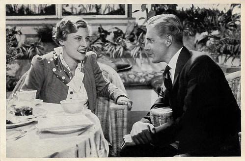 Marianne Hoppe and Hans Schlenck in Heideschulmeister Uwe Karsten (1933)