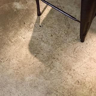 under foot