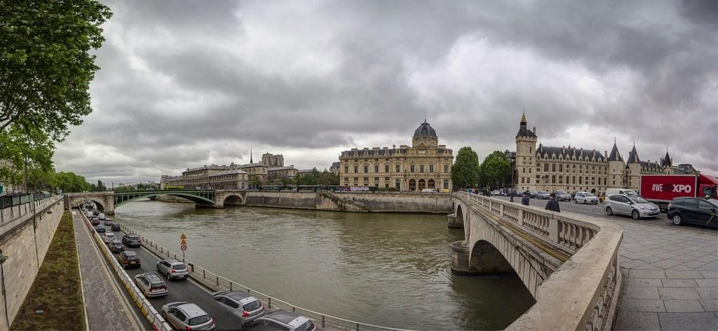 PARIGI. PONT AU CHANGE E LA CONCIERGIERIE.